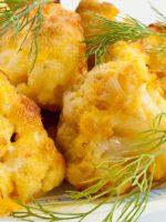 Receta de coliflor cocida y frita