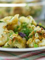 Receta de coliflor rebozada en salsa verde