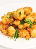 Receta de coliflor rebozada tempura