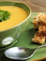 Receta de crema de calabacín y zanahoria