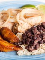 Receta de frijoles con arroz colombiano