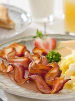 Receta de huevos revueltos con bacon