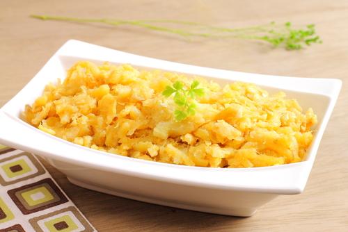 Receta de huevos revueltos con patatas