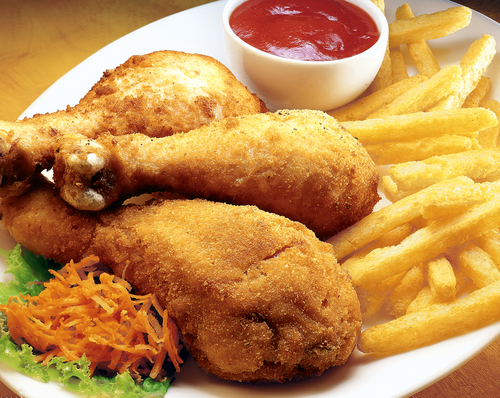 Receta de pollo frito sin harina