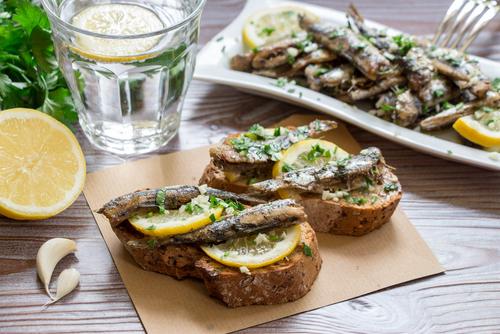 Receta de sardinas con ajo y perejil