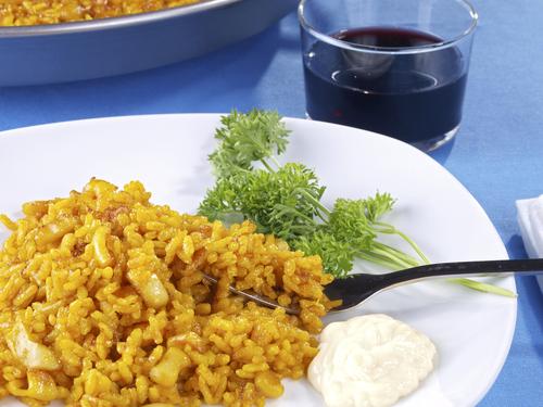 Receta de arroz a banda con alioli