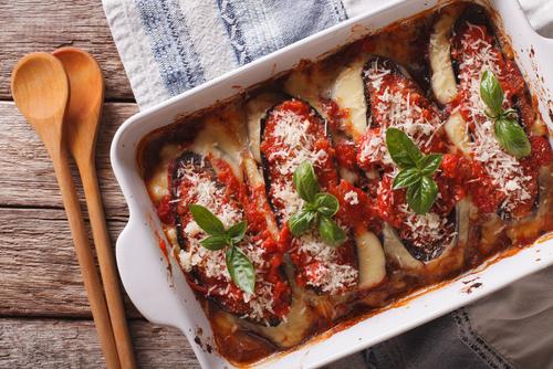 Receta de berenjenas a la parmesana con salsa bechamel