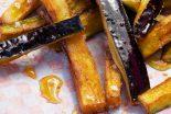 berenjenas a la plancha con miel