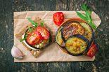 berenjenas a la plancha con tomate