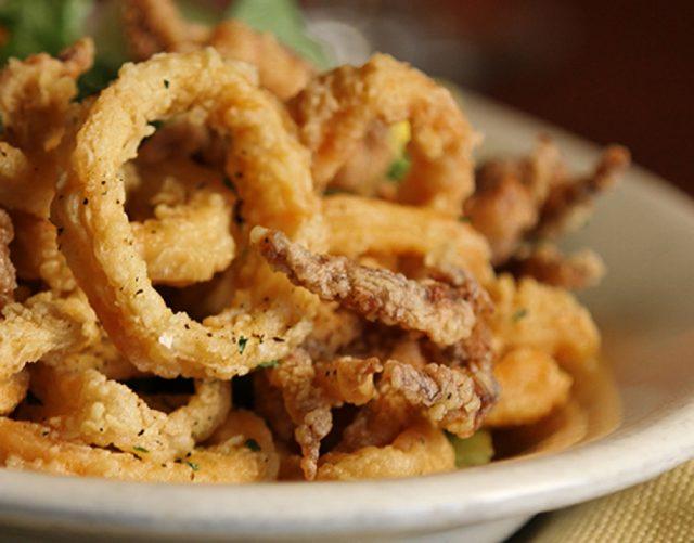 Receta de calamares a la romana sin gluten