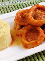 Receta de calamares en salsa thermomix