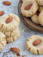 Receta de galletas de almendra sin azúcar