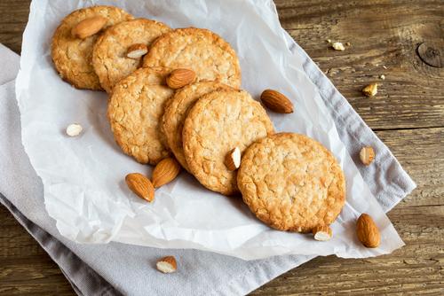 Receta de galletas de almendra sin gluten