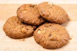galletas de avena al microondas