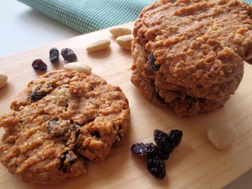 Receta de galletas de avena fitness