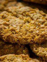 Receta de galletas de avena veganas