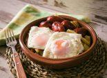 huevos-estrellados-con-chorizo