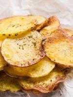 Receta de patatas fritas al microondas