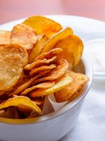Receta de patatas fritas chips