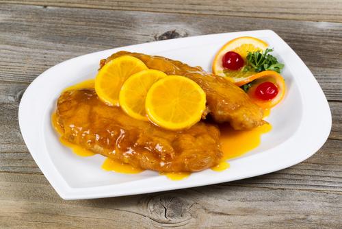Receta de pollo al limón chino