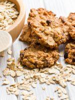 Receta de galletas de avena sin azúcar