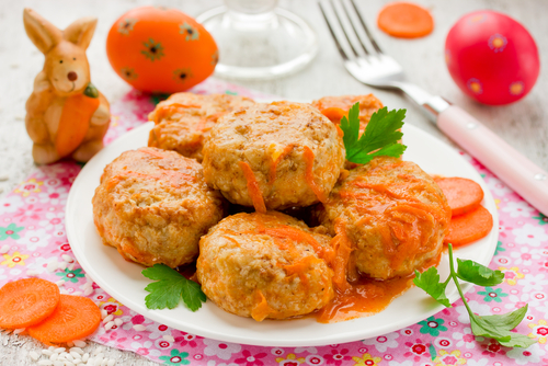 Receta de albóndigas en salsa de cebolla