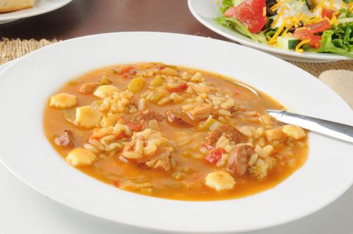 Receta de arroz con pollo y alcachofas