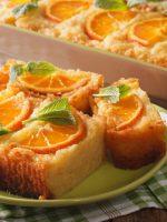 Receta de bizcocho de yogur y naranja