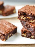Receta de brownie sin horno