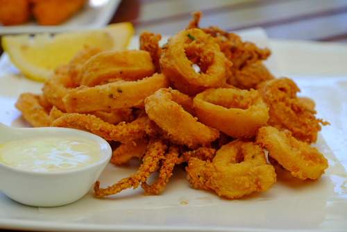 Receta de calamares rebozados con cerveza