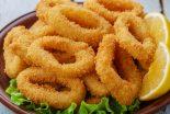 calamares rebozados con pan rallado
