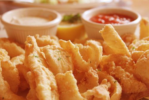 Receta de calamares rebozados con tempura