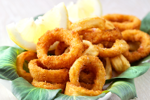 Receta de calamares rebozados sin gluten