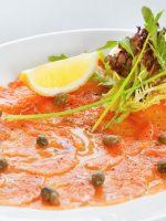 Receta de carpaccio de salmón
