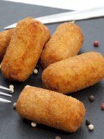 Receta de croquetas de pollo sin bechamel