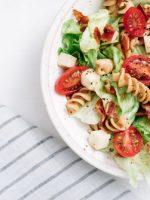 Receta de ensalada de pasta para dieta