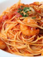 Receta de espaguetis con gambas y atún