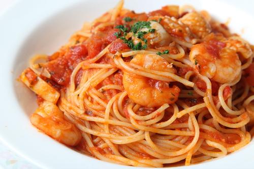 Receta De Espaguetis Con Gambas Y Atun Unareceta Com