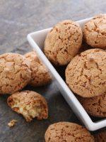 Receta de galletas de almendra veganas