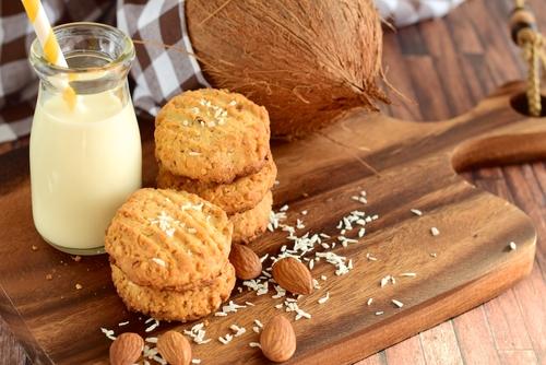Receta de galletas de almendras y coco