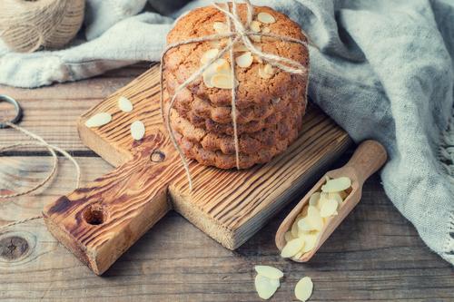 Receta de galletas de almendras y miel