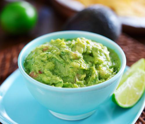 Receta de guacamole sin cebolla