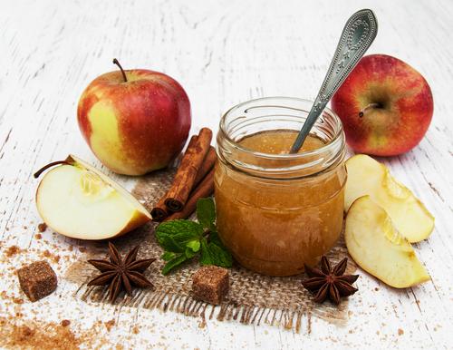 Receta de jalea de manzana