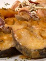 Receta de merluza al horno a la sidra