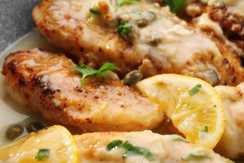 Receta de pollo al limón en olla express