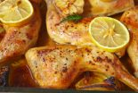 pollo en salsa de limon