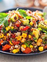 Receta de quinoa a la mexicana