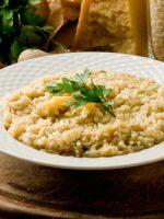 Receta de risotto parmesano