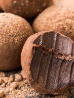 Receta de trufas de chocolate con leche