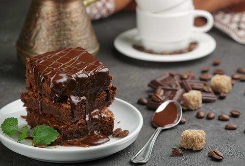 Receta de brownie americano